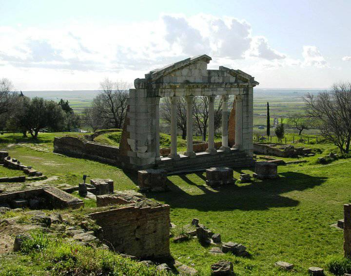 Аполлония, Албания