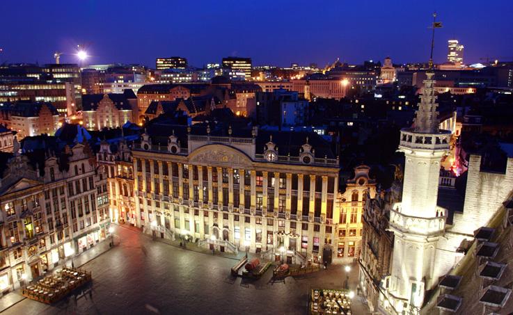Брюссель, центр