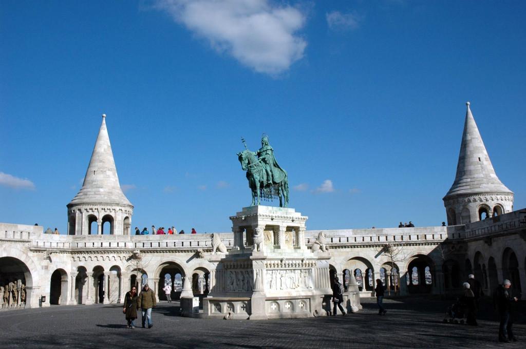 Будапешт, памятник Ишвану Святому