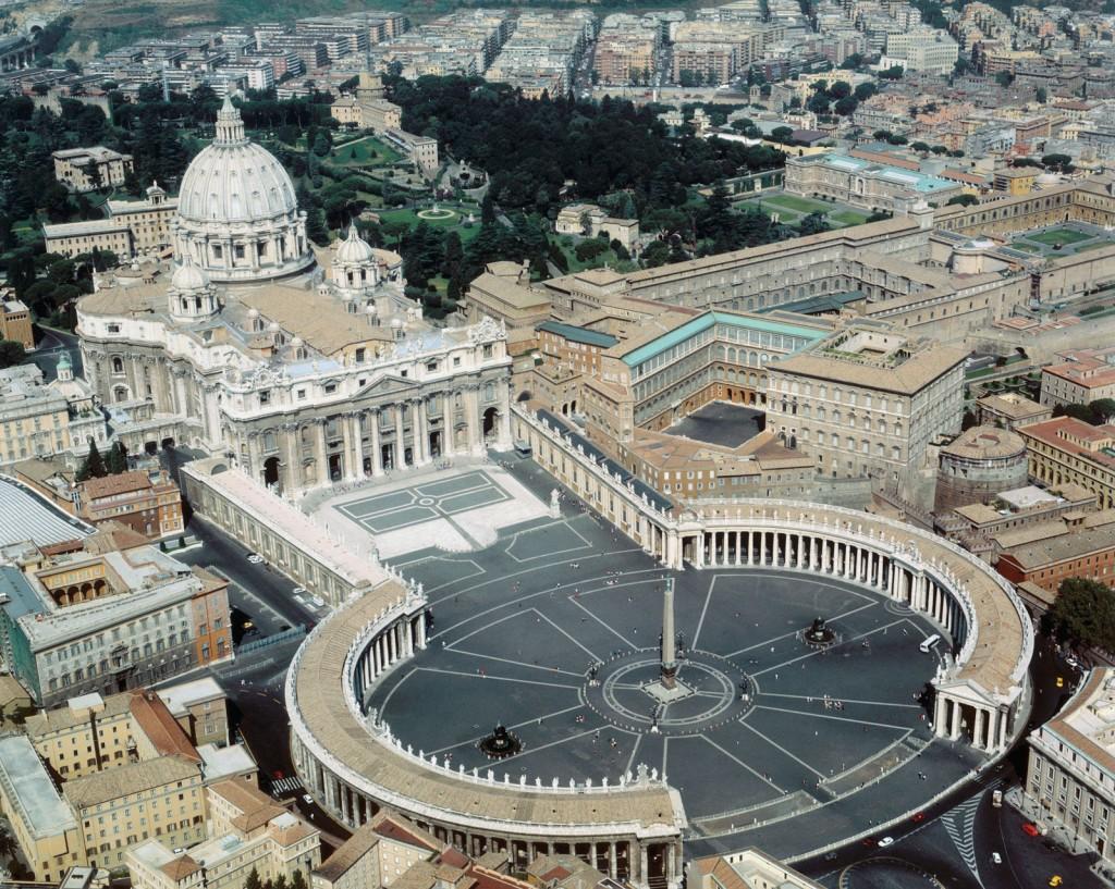 Площадь Святого Петра, Рим, Ватикан