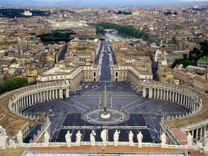 Где находится Ватикан на карте мира и как туда попасть самостоятельно