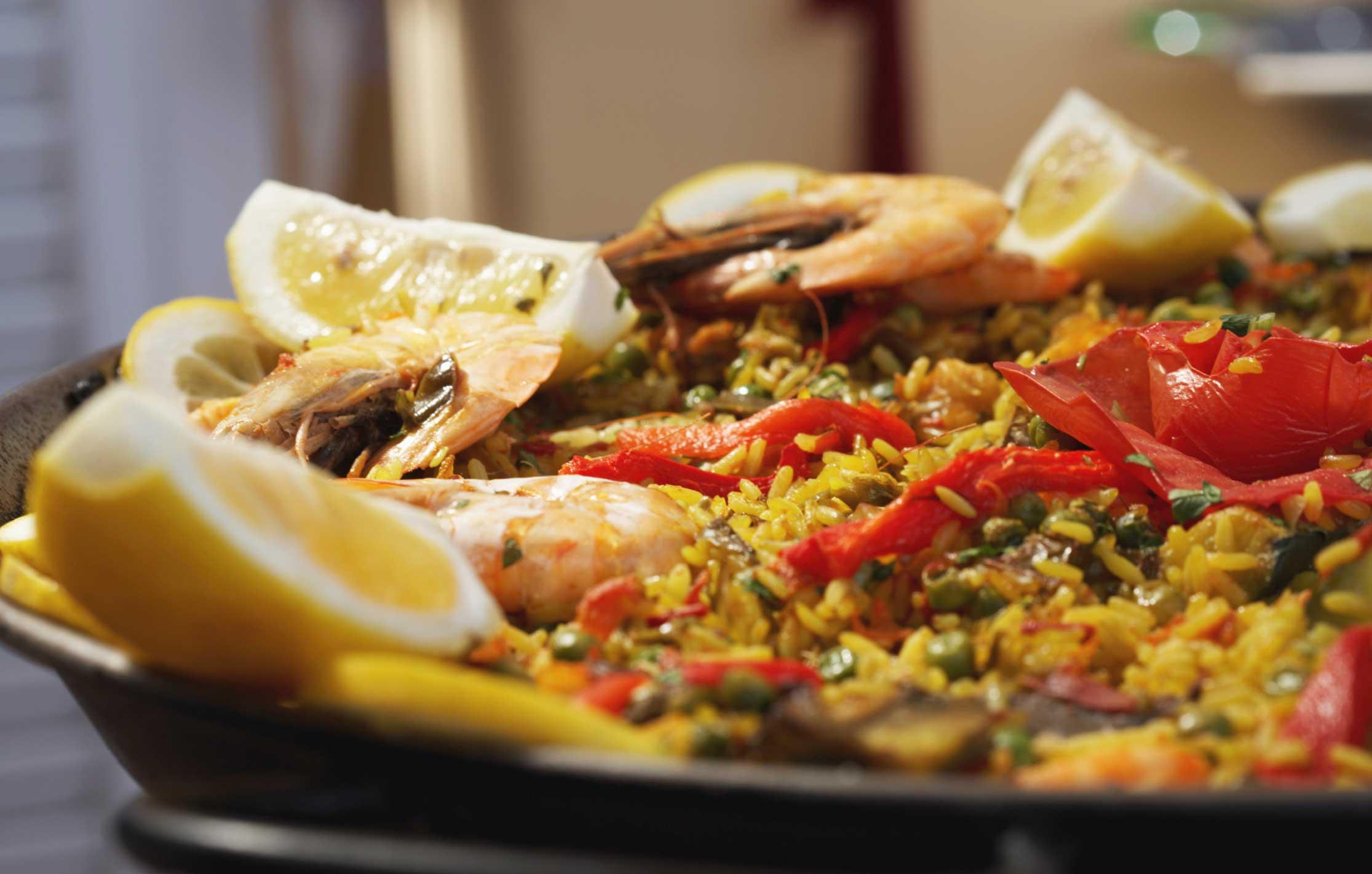 Блюдо испанской кухни