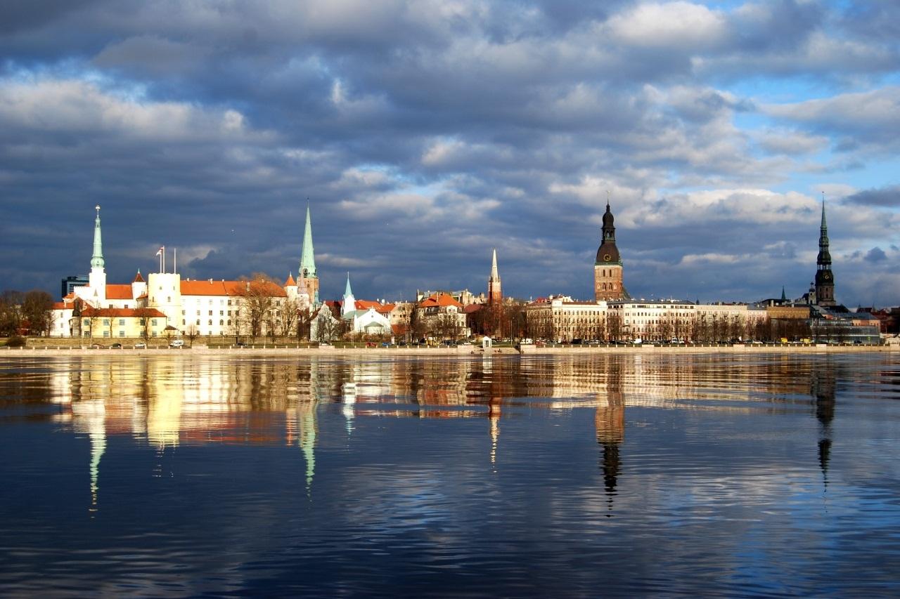 Латвия, Рига залив