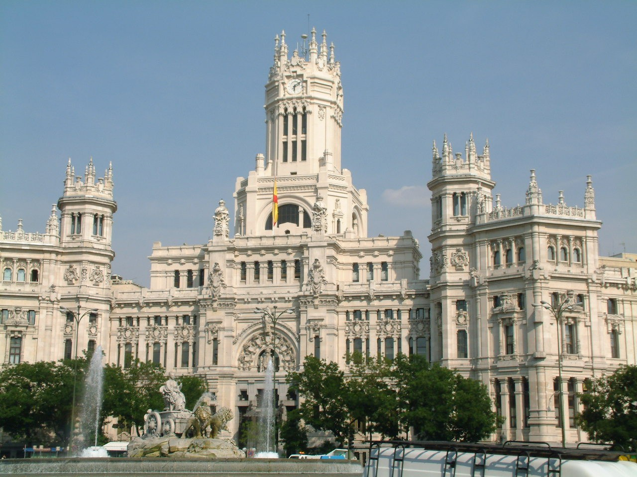 Мадрид, королевский дворец