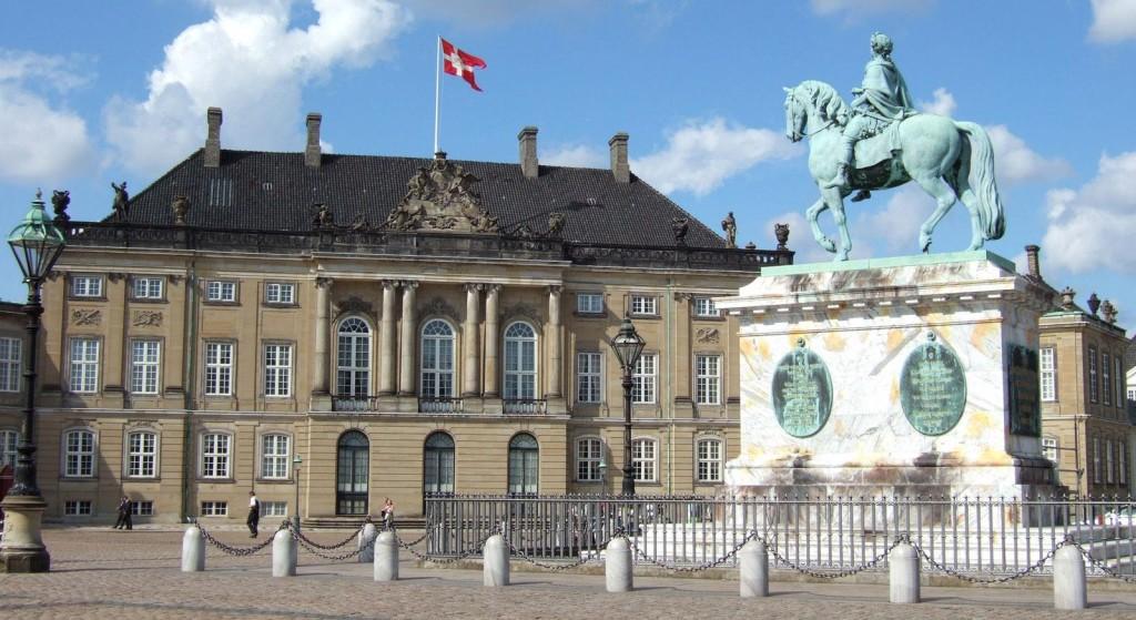 Резиденция Амалиенборг