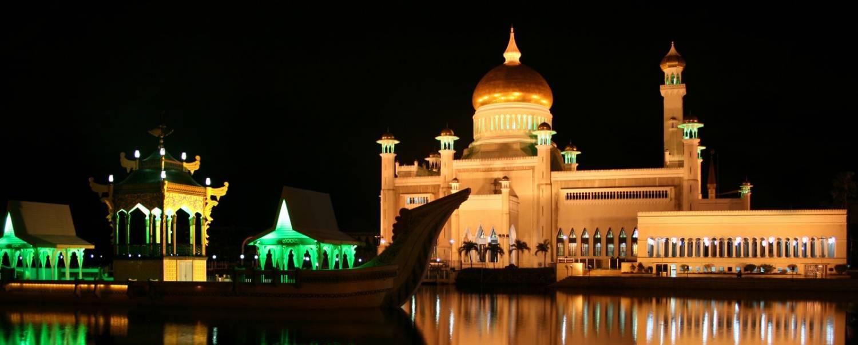 Бруней, ночь