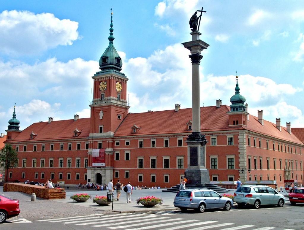 Королевский дворец, Варшава