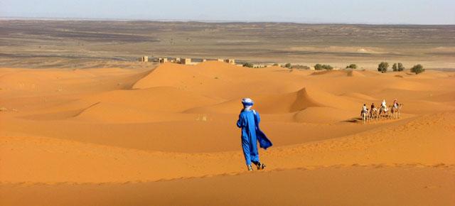 Марокко, пустыня
