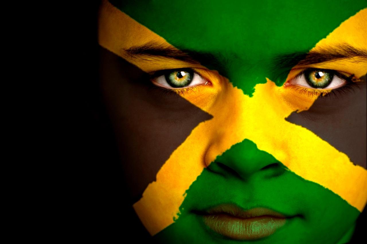 Ямайка - национальный флаг