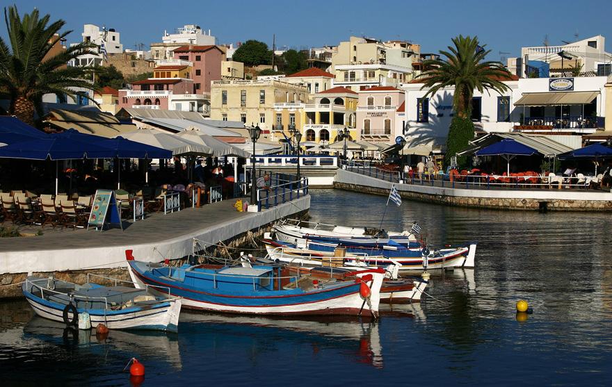 Крит, побережье