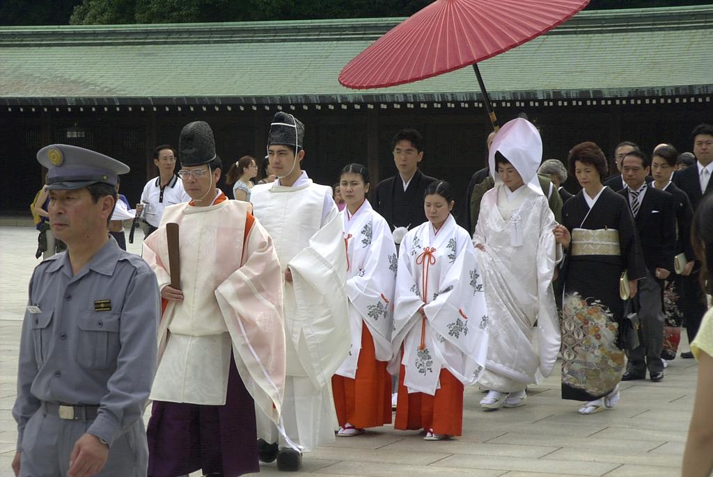 Свадьба в японском стиле