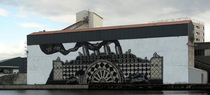 NUART — незабываемый фестиваль уличного искусства