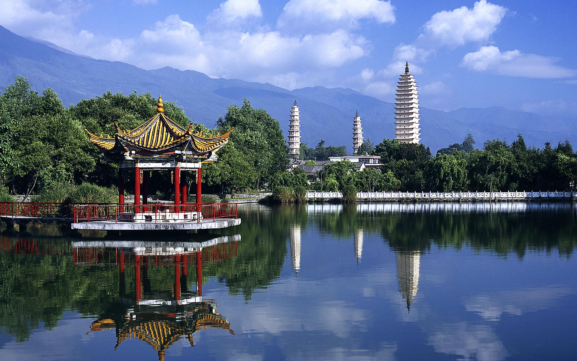 Китай, озеро