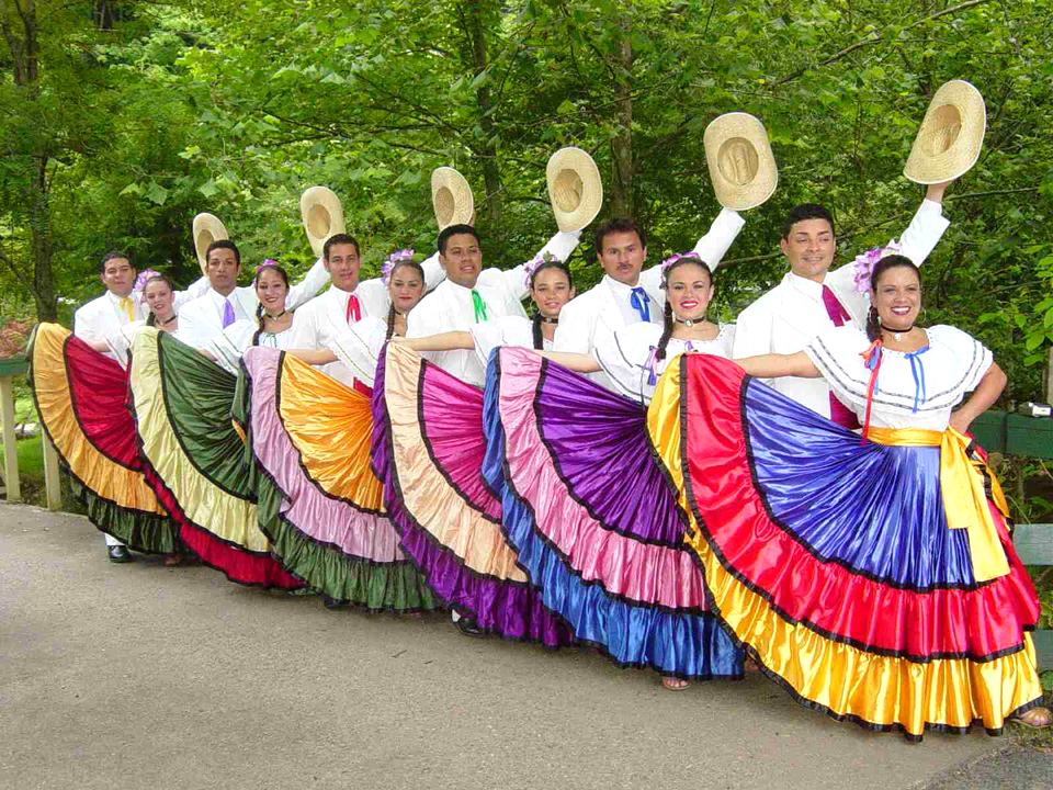Коста-Рика, танцоры