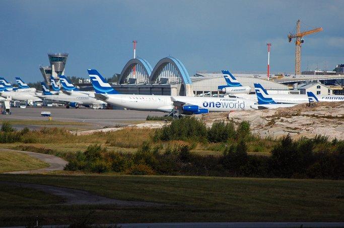 Хельсинки, аэропорт