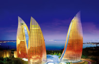 Баку, Огненные башни