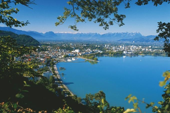 Боденское озеро, со стороны Австрии