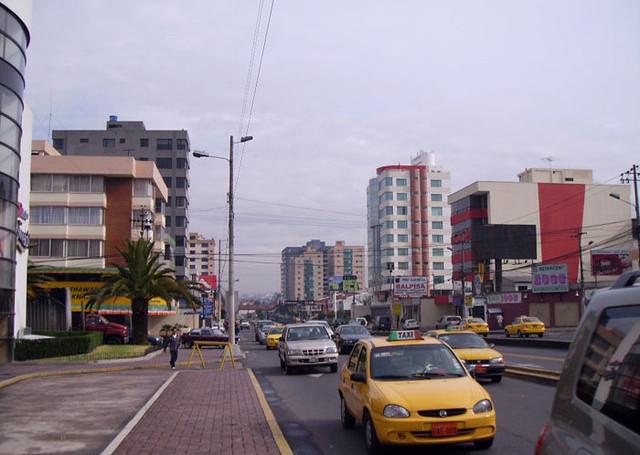 Транспорт в Эквадоре