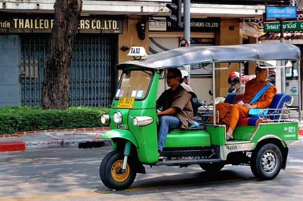 Транспорт, тук-тук в Бангкоке