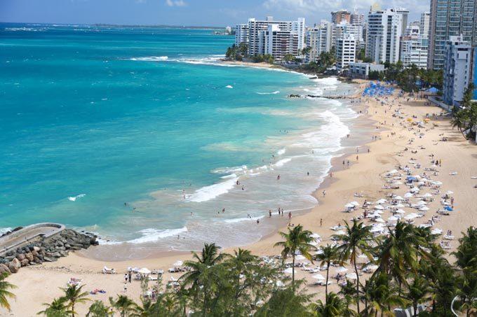 Дешевые авиабилеты в Пуэрто-Рико