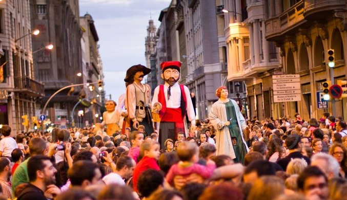 Фестивали лета 2014 в Барселоне