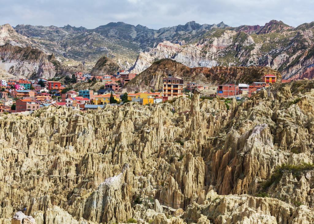 Лунная долина, Боливия