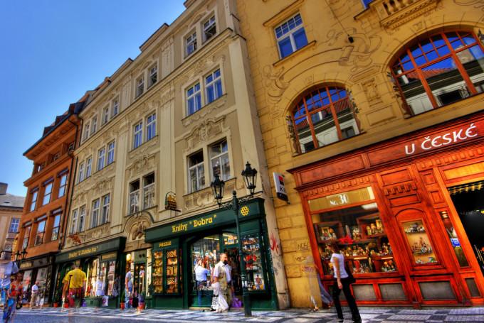 Шоппинг в Праге