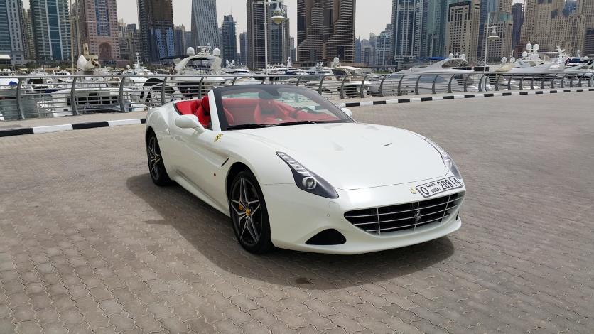 Дубай, прокат авто