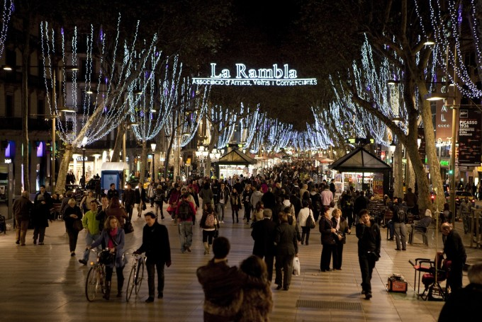 Погода в Барселоне в декабре