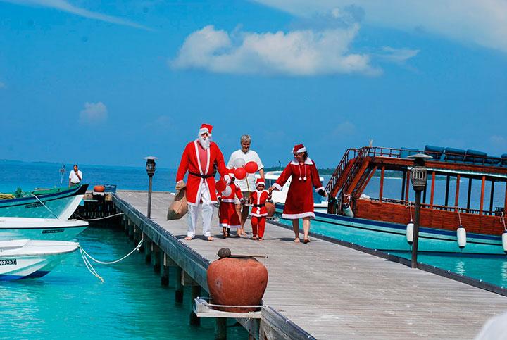 Мальдивы в январе – такой вот местный дед Мороз