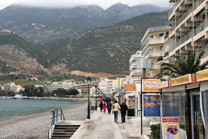 Лечебные курорты Греции