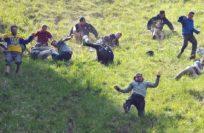 Сырная гонка в Брокворте