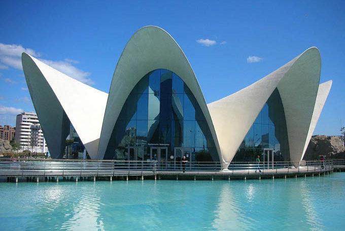 Океанографический парк в Валенсии