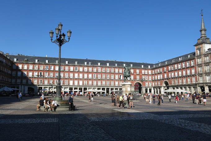 Площадь Плаза Майор в Мадриде