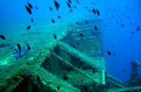 Затонувший корабль Зенобия