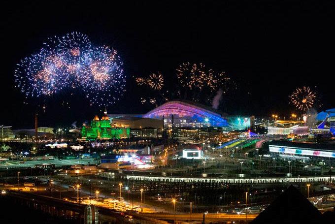 Новый год 2018 в Сочи