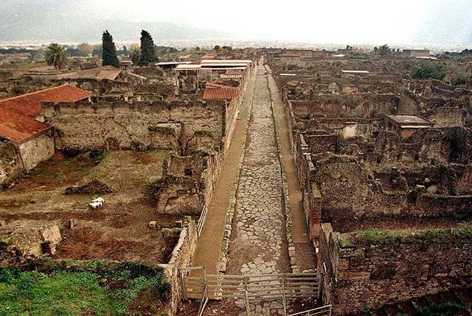 Отели Помпей