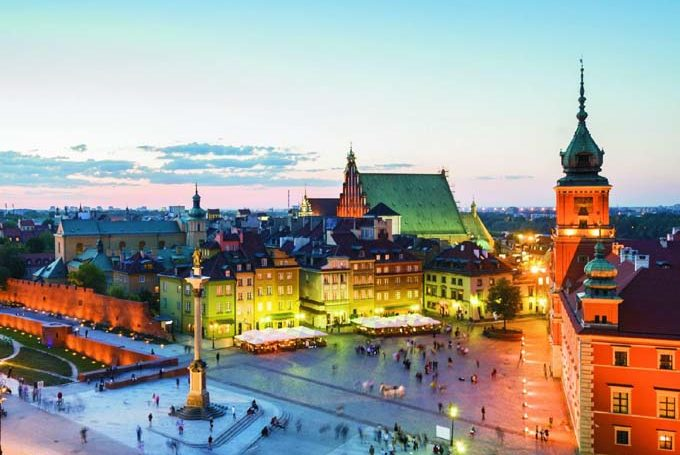 Отели Варшавы