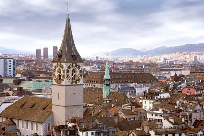 Отели городов Швейцарии