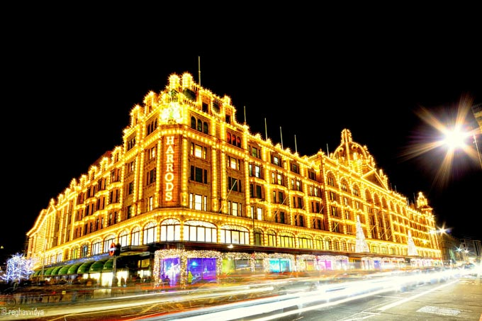 Harrods shopping center, Лондон