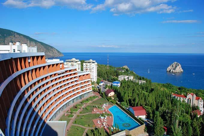 Отели городов Крыма