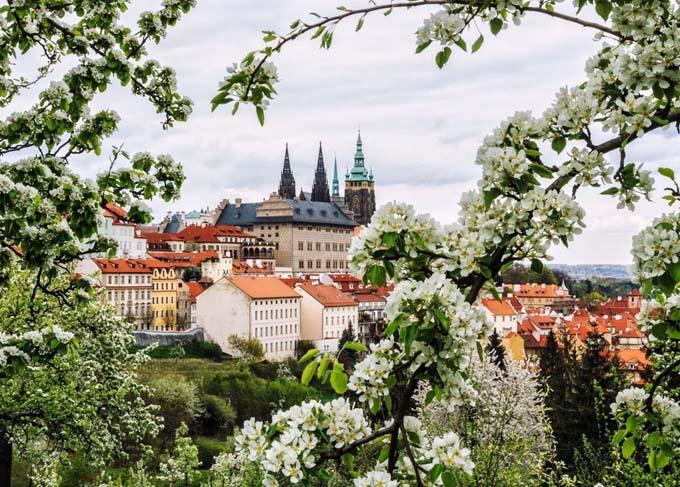 Прага весной