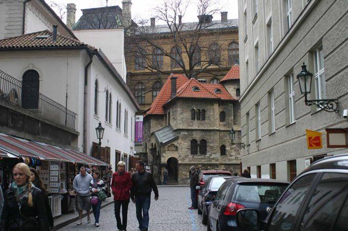 Еврейский квартал в Праге