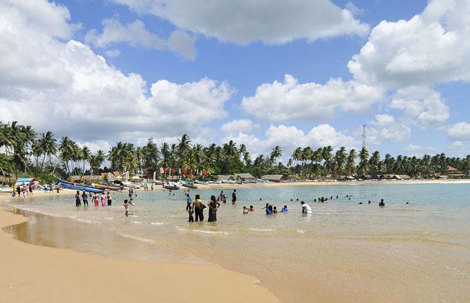 Пляж Аругам Бэй
