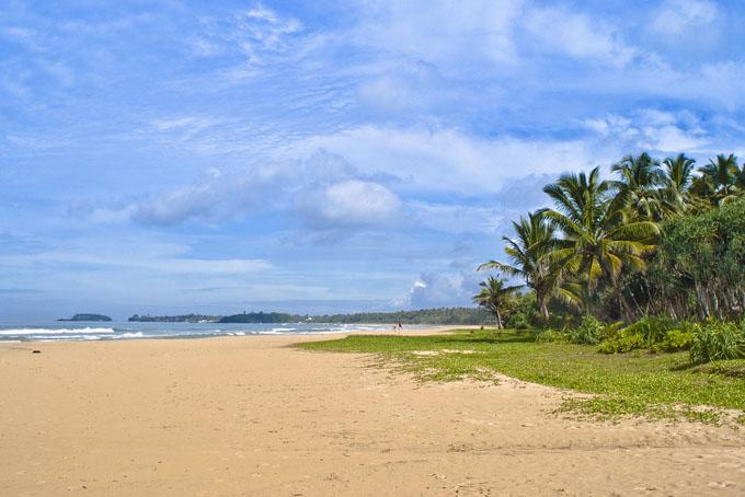 Пляж Бентота