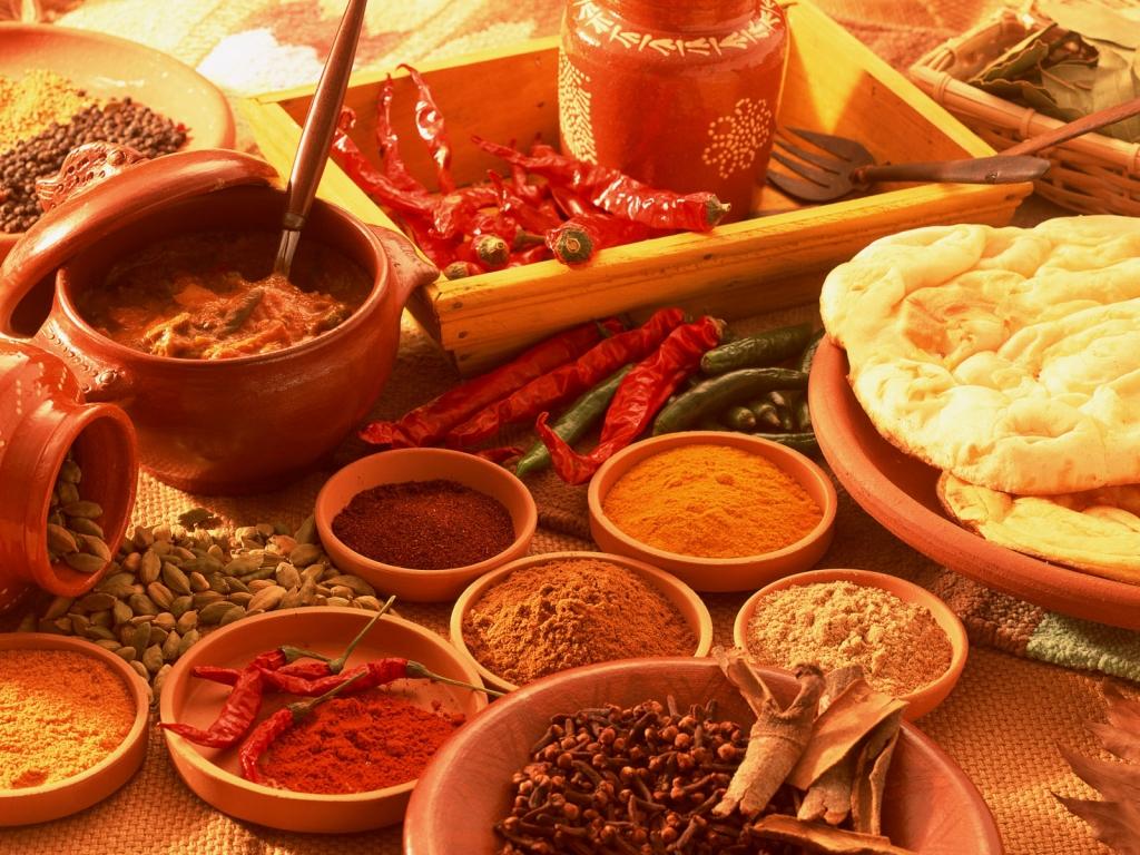 Бангальская кухня, приправы