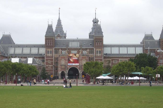 Историческая застройка Амстердама
