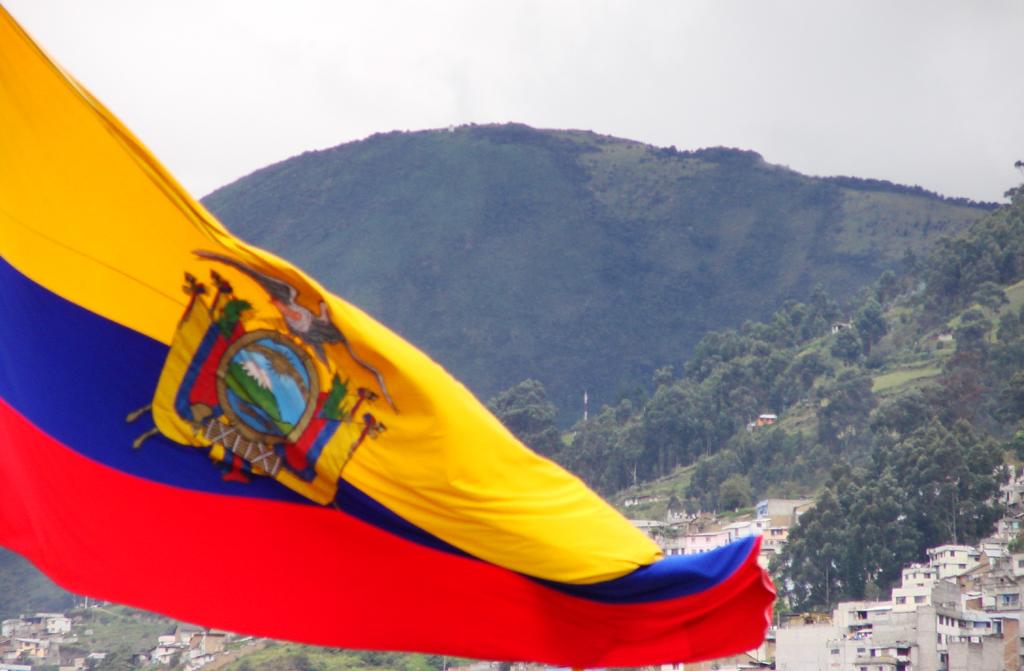 Эквадор, флаг