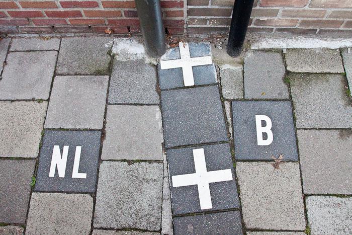Граница Бельгии и Нидерландов
