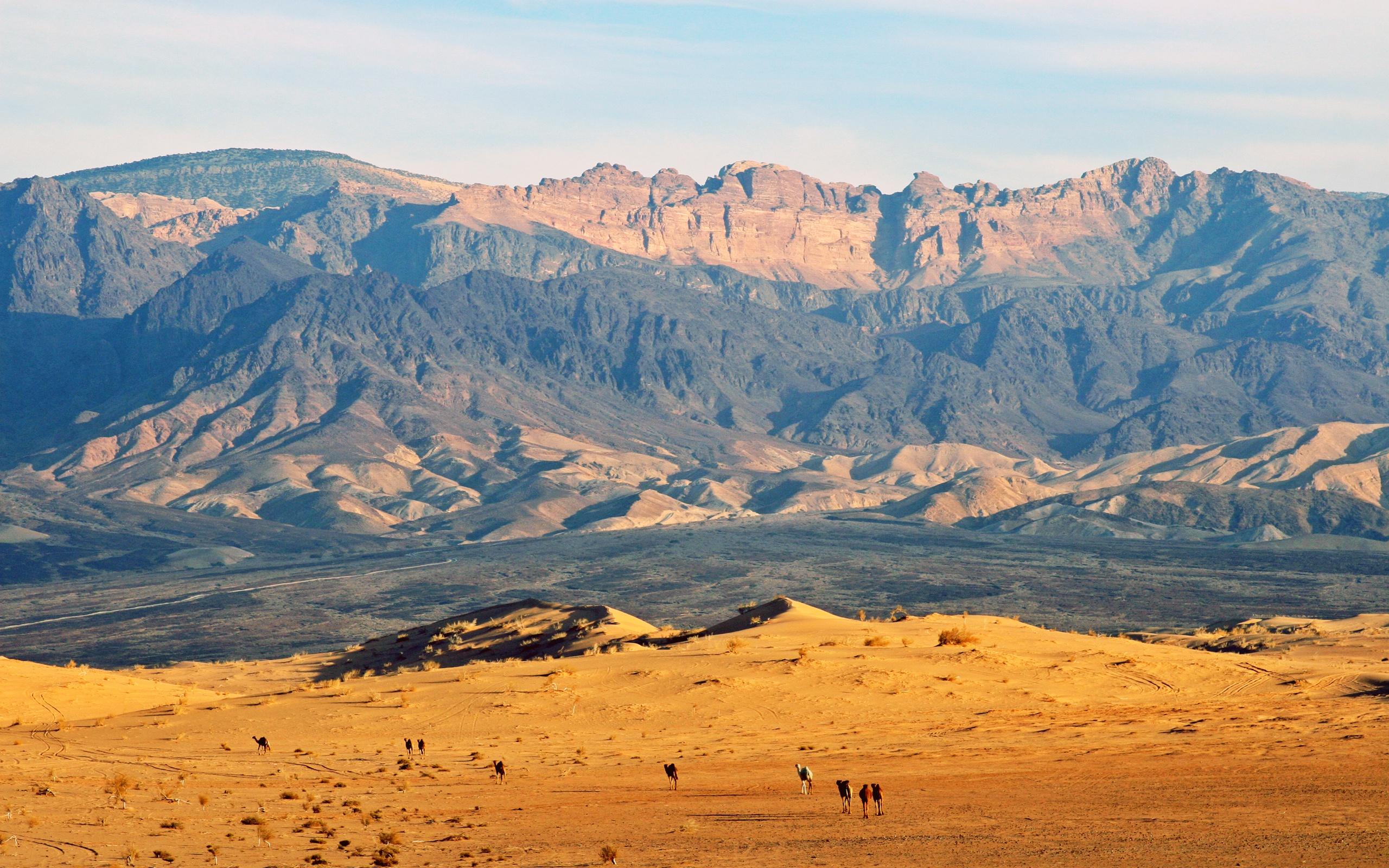 Природа Иордании